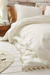 Pom-Pom-Duvet-Cover-Donna-Cover-Bohemian-Bedding-Quilt-Cover-Christmas-Gift