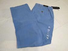 Men's Tommy Hilfiger pants 34 W 32 L slim fit 7845118 Fisherman Blue 496 Graduat