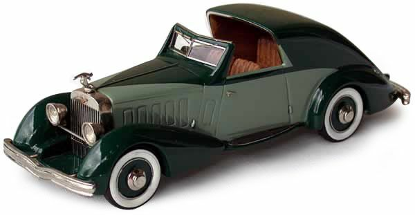 Ma CollectionHispano Suiza J12 Sedanca Coupe '34 n Heco Ilario CCC 1 43