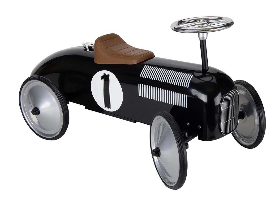 Rutscherauto Rutscherfahrzeug Nostalgie schwarz  NEU ca. 74cm