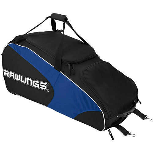Rawlings Workhorse Wheeled Catcher Gear Bag WHWB2 Royal