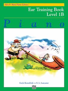 Alfred's Basic Piano Library Sûr Oreille Formation Niveau 1b Music Book Brand New!!!-afficher Le Titre D'origine