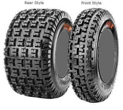 "10 ATV 2 Ply RS07 Maxxis RAZR Xm Tire Front 19/"" 19x6-10 19-6"