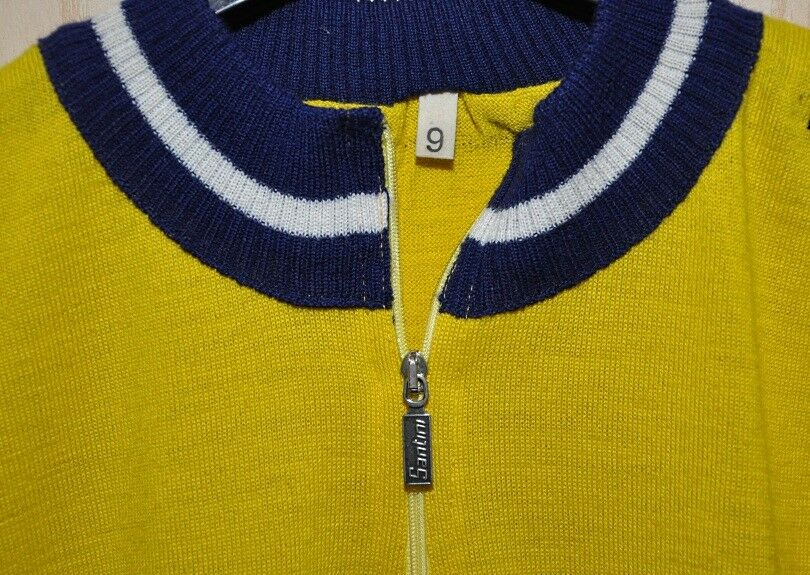 Maglia Vintage Jersey Jersey Jersey Maglificio Santini  taglia 9  3XL NOS manica lunga 58738d