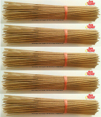 """UNSCENTED 11"""" Incense Sticks 500pcs: DIY - Do It Yourself, by Nose Desserts®"""