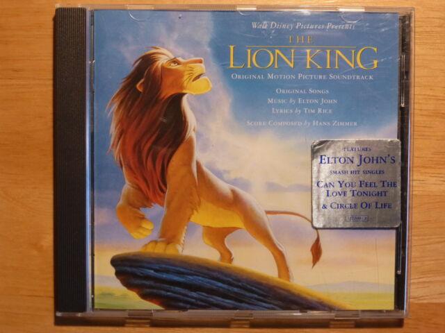The Lion King - Walt Disney Original Motion Picture Soundtrack  / Elton John CD