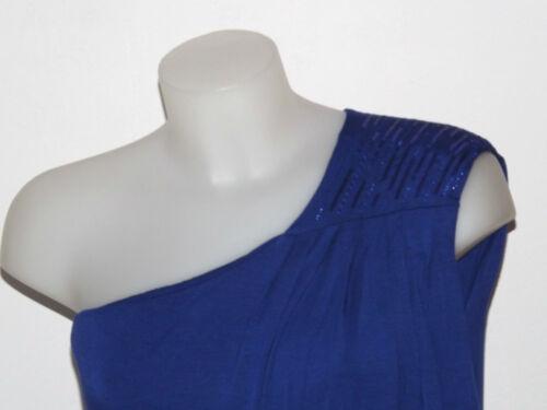 Asymétrique Bleu Électrique Koralline Robe Jersey Plaque Taille Mini M 88E017