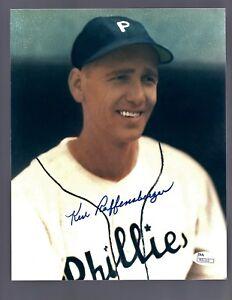 Ken-Raffensberger-D-2002-Signed-Auto-Phila-Phillies-8x10-Photo-JSA-R31112