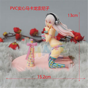 Anime-Super-Sonico-PVC-Action-Figure-5-034-Model-Toy-Cake-Decor-Kids-Birthday-Gift
