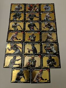 Lot-Of-20-ABC-039-s-Monday-Night-Football-Action-Packed-ALL-1993-Gold-Football-Cards