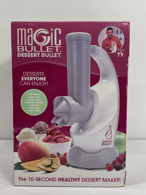 "Magic Bullet Dessert Bullet With Recipe Book ""NIB"" for sale online"
