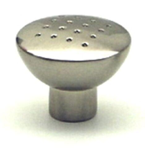 Möbelknöpfe Möbelknopf  Edelstahl finish  34 mm