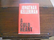 A COLD HEART #17 by Jonathan Kellerman, SIGNED 1st ed/1st printing (2003, HCDJ)