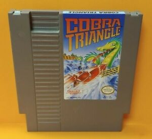 Cobra-Triangle-Nintendo-NES-Game-Rare-Tested-Works-Great-Authentic