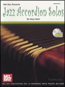 IngéNieux Jazz Accordion Solos Sheet Music Book/cd-afficher Le Titre D'origine