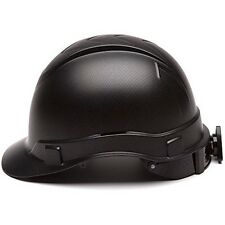 Construction Hard Hat Safety Ridgeline Helmet w/ Ratchet Suspension One size NEW