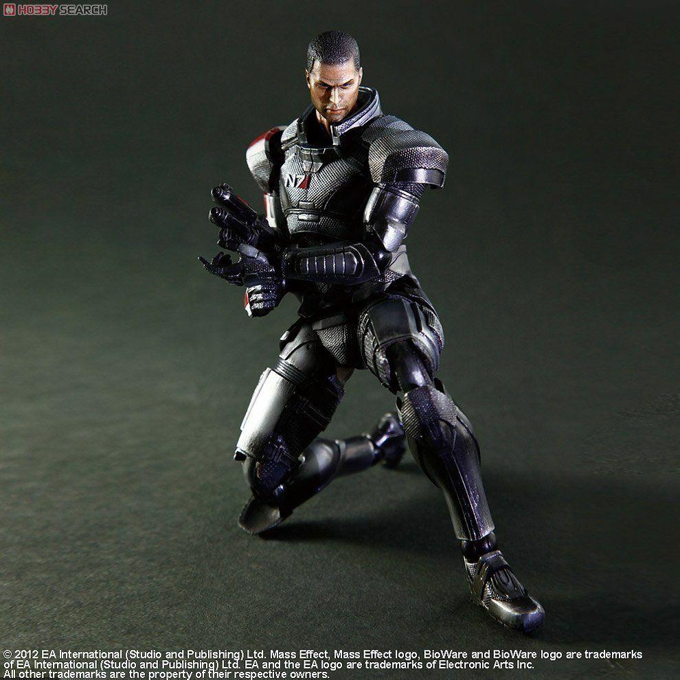 Square Enix  Mass Effect 3 Play Arts Kai Comhommeder Shepard Action Figure - nouveau  meilleure offre
