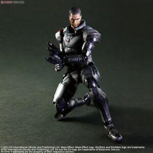 Details About Square Enix Mass Effect 3 Play Arts Kai Commander Shepard Action Figure New
