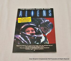 Aliens-The-Official-Movie-Book-Starlog-Press-Extremely-Rare