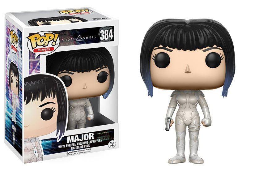 Ghost in the Shell POP  Movies Vinyl figurine Major 3 1 2in Funko figure 384