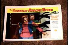 STAND AT APACHE RIVER 1953 LOBBY CARD #8 NATIVE AMERICAN INDIAN WESTERN