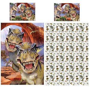 Dino-Selfie-Set-Housse-de-Couette-Simple-Literie-Howard-Robinson-2-IN-1-Design