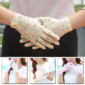Women-Elegant-Lace-Gloves-Bridal-Wedding-Summer-Driving-Gloves-UV-Protection