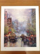 "Thomas Kinkade ""San Francisco"" 28x24"" Sample Print"