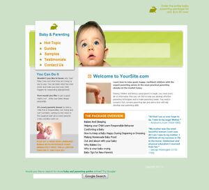 Established-Baby-Parents-Guides-Make-Money-Business-Website-Sale-Not-Affiliate