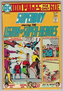 Superboy-205-VF-8-0-Legion-Of-Super-Heroes-100-Pages
