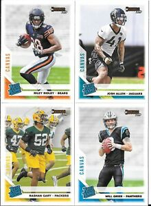 2019-Panini-Donruss-Rated-Rookie-Canvas-Parallel-You-Pick-Choose-the-Card