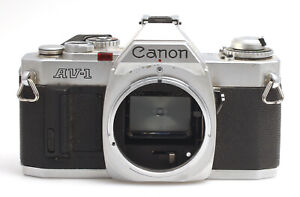 Canon AV-1 Spiegelreflex SLR Gehäuse / Body silber