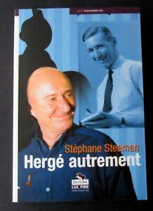 TINTIN-HERGE-HERGE-AUTREMENT-STEPHANE-STEEMAN-EDIT-PIRE-2003-ADH-1000-EX-NEUF