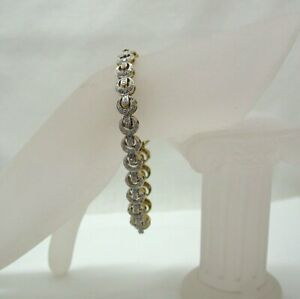 Beautiful-9-Carat-Gold-And-Diamond-Bracelet