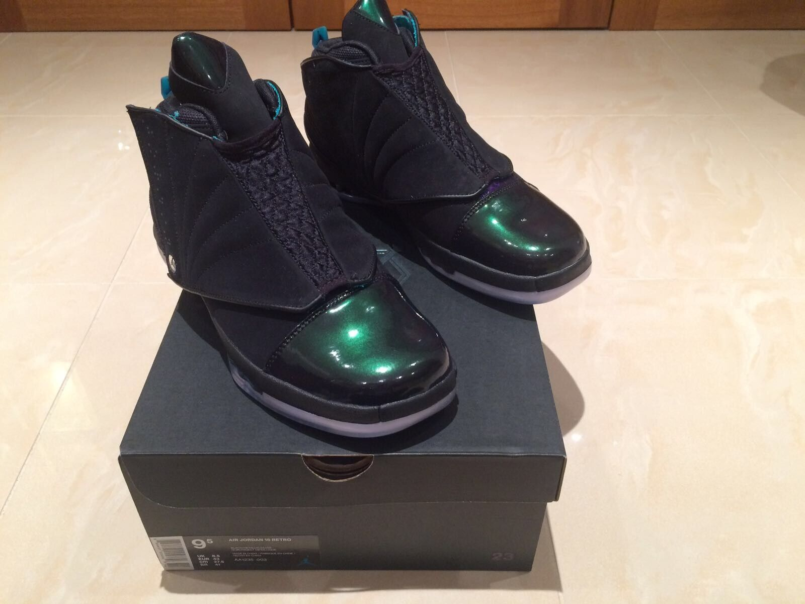 NIKE AIR SIZES8.5 JORDAN 16 BOARDROOM LIMITED EDITION SIZES8.5 AIR & 9.5 NEW 1b4d24