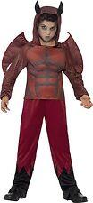 Costume Devil Bambino 10/12 anni Diavolo Lusso Halloween Carnevale