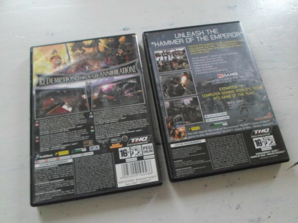 warhammer 40.000 Dawn of War SOulstorm & Winter, MMORPG