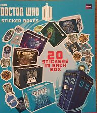 Dr Who Vending Machine stickers boxes 20 Per Box X 20 Boxes . Ideal Party Bags