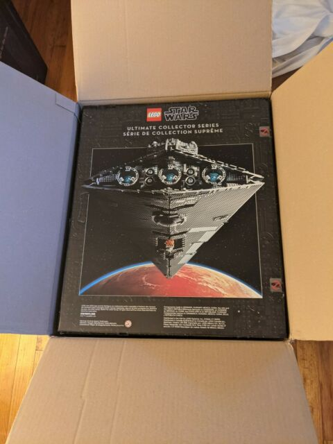 LEGO Star Wars Imperial Star Destroyer 75252 ULTIMATE COLLECTORS SERIES SET