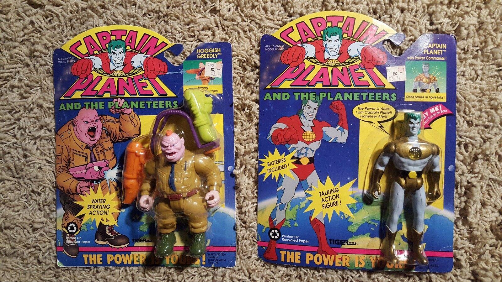Viele 2 vintage - captain planet actionfiguren moc hoggish greedly neue 1991