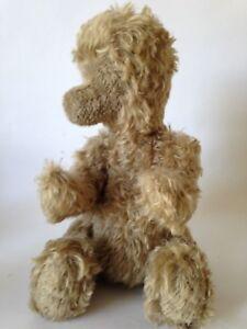 Vintage-MOHAIR-Bear-Plush-RARE-FACELESS-TEDDY-Jointed-Antique-BING-Bear-15-034