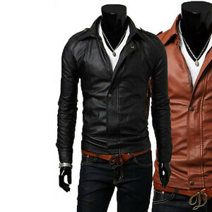 Herren Hommes Lederjacke Jacket Chaqueta Veste Leather Cuir Men Us wPq6SBx