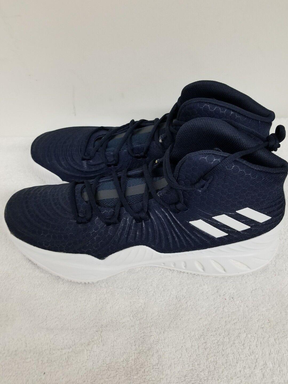 Adidas Crazy Explosive Exp 2017 NBA NCAA Men Basketball shoes Navy bluee - CQ1550