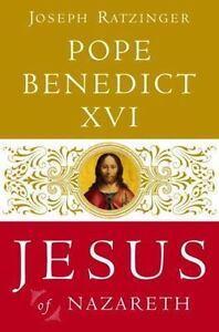 JESUS-OF-NAZARETH-by-Joseph-Ratzinger-FREE-SHIP-hardcover-book-Pope-Benedict-XVI