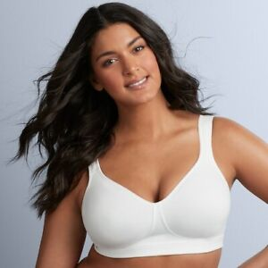 Playtex-NWT-18-Hour-Ultimate-Lift-amp-Support-Wire-Free-Cotton-Bra-474C-35