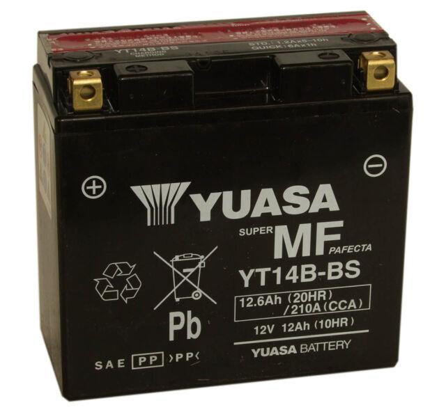 YUASA YT14B-BS Batterie pour moto