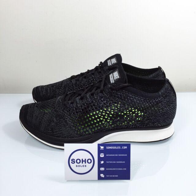 Nike Flyknit Racer OREO Black/&White Unisex Size 7-11US **100/% AUTHENTIC**+SALE+