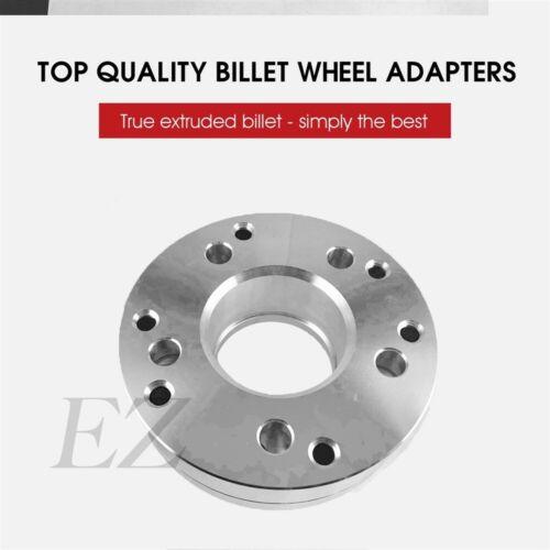 4 Hub Centric Wheel Adapters 5x5 To 6x1356 Lug F150 Wheel on 5x5 Axle