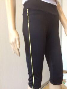 Crivit Sports Damen Sweatcapri//Kurzhose//Sporthose//Trainingshose//Fitnesshose Pink