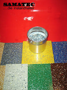 1-kg-Farbchips-Dekochips-Bodenbeschichtung-Werkstattboden-Garage-20-kg-Mischung